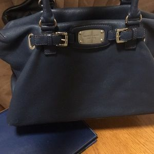 Michael kors pebbled leather extra large purse